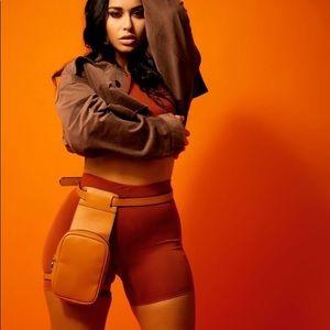 Brand new Sorella tomb raider brown leg bag